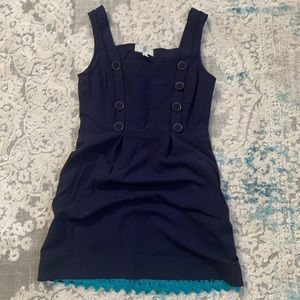 Moulinette Soeurs Navy Dress